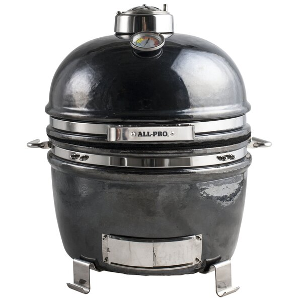 11 Convenience Series Backyard Cooker Charcoal Grill by All-Pro