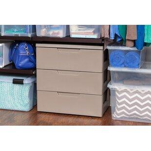 Reviews 3 Drawer Plastic Storage Chest ByIRIS USA, Inc.
