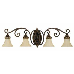 Inexpensive Cervantes 4-Light Vanity Light By Feiss