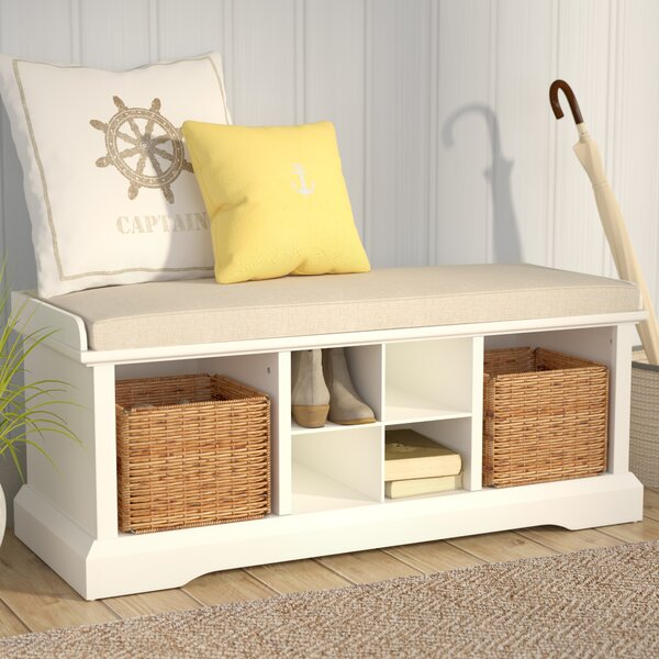Wabasso Storage Bench by Beachcrest Home