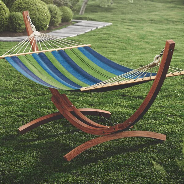 Grissom Free-Standing Hammock with Stand by Beachcrest Home