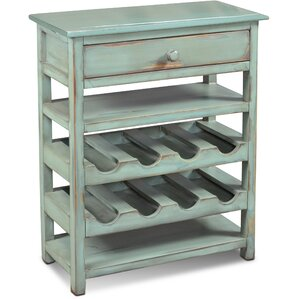 Ashleigh 8 Bottle Floor Wine Bottle Rack by August Grove