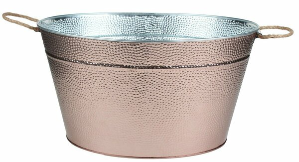 Puryear Galvanized Oval Beverage Tub by Brayden Studio
