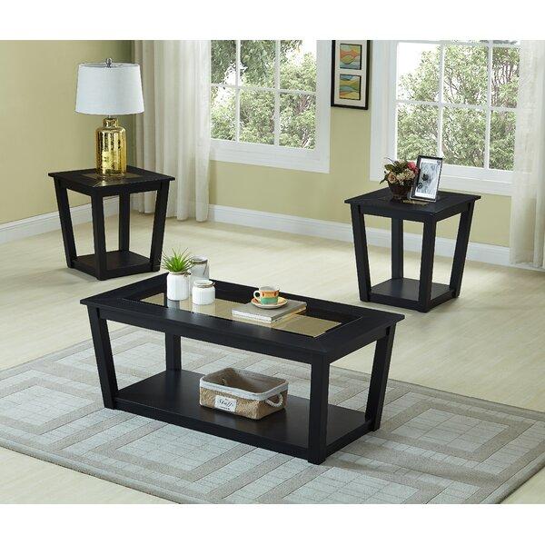 Pakize 3 Piece Coffee Table Set By Ebern Designs