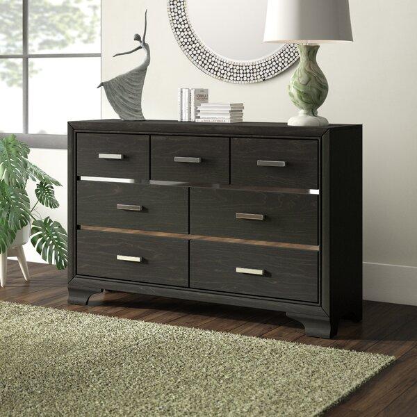 Hunedoara 7 Drawer Double Dresser by Ivy Bronx