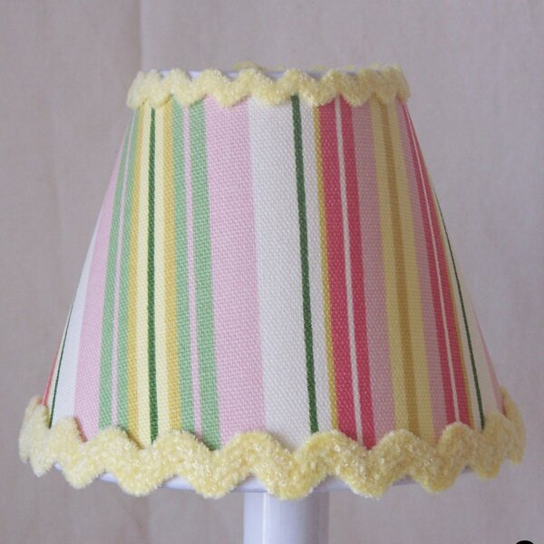 Glorious Stripes 11 Fabric Empire Lamp Shade by Silly Bear Lighting