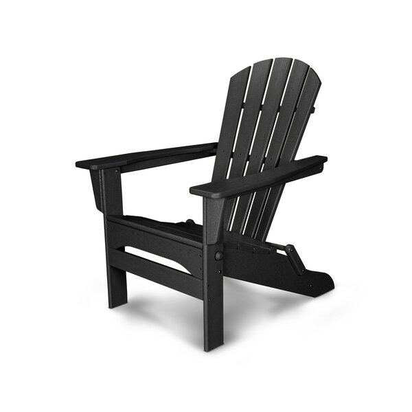 Palm Coast Plastic Folding Adirondack Chair by POLYWOOD®