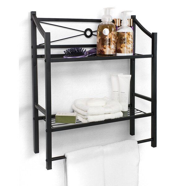 Waterfield 18.25 W x 21 H Bathroom Shelf by Winston Porter