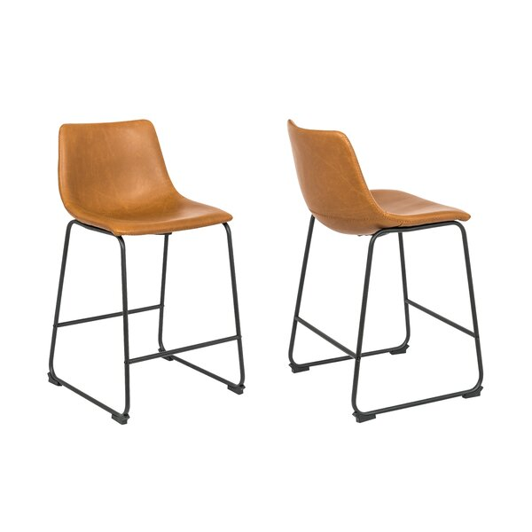 Saltville 26'' Bar Stool (Set of 2) by Ivy Bronx