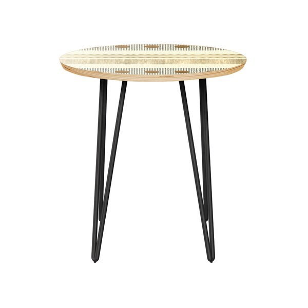 Honn End Table by Bungalow Rose