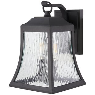 Great Price Dunton 3-Light Outdoor Wall Lantern By Charlton Home