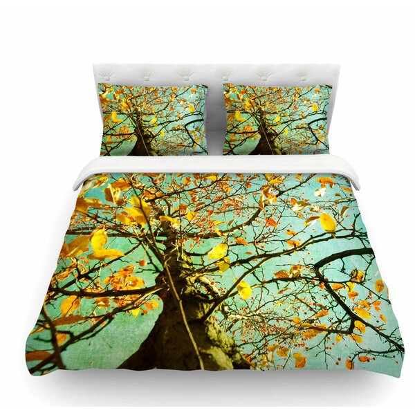 Autumn Tree by Sylvia Coomes Featherweight Duvet Cover by East Urban Home