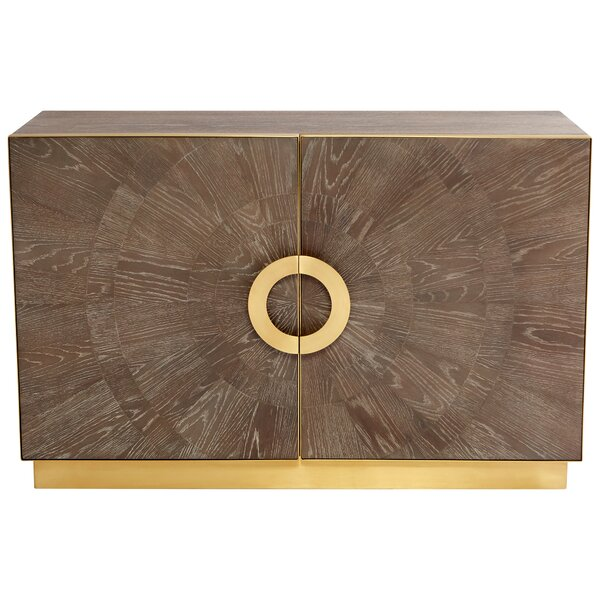2 Door Accent Cabinet By Cyan Design
