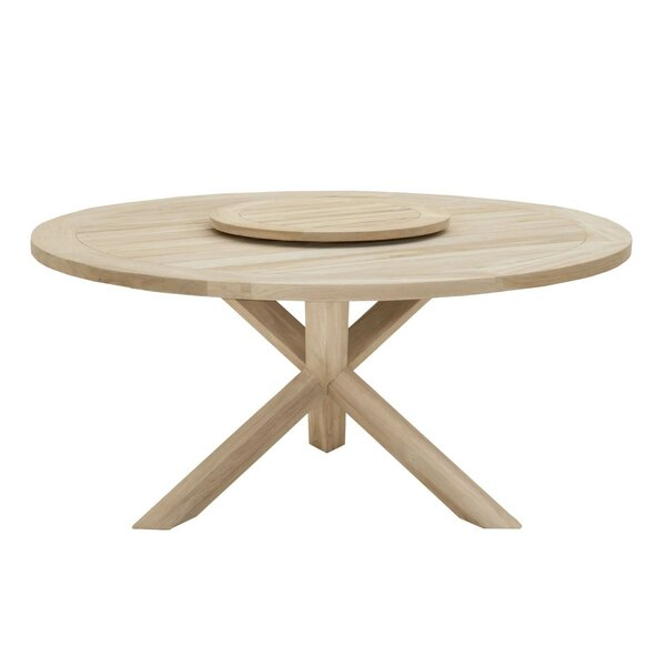 Osman Round Dining Table by Bungalow Rose