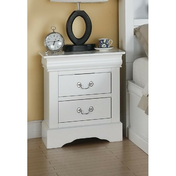 Wysocki 2 Drawer Nightstand by Alcott Hill
