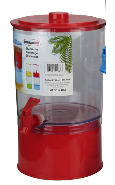 192 Oz. Beverage Dispenser by American Maid Plastic