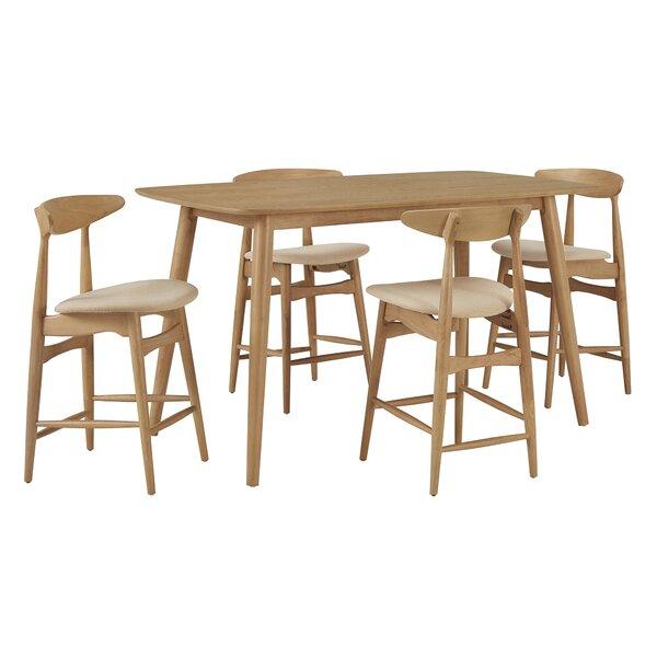 Buffum 5 Piece Pub Table Set by George Oliver
