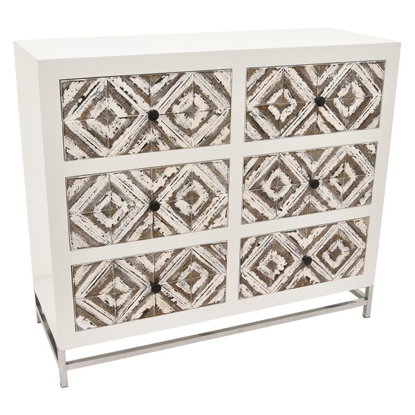 Hasting 6 Drawer Accent Chest by Bungalow Rose
