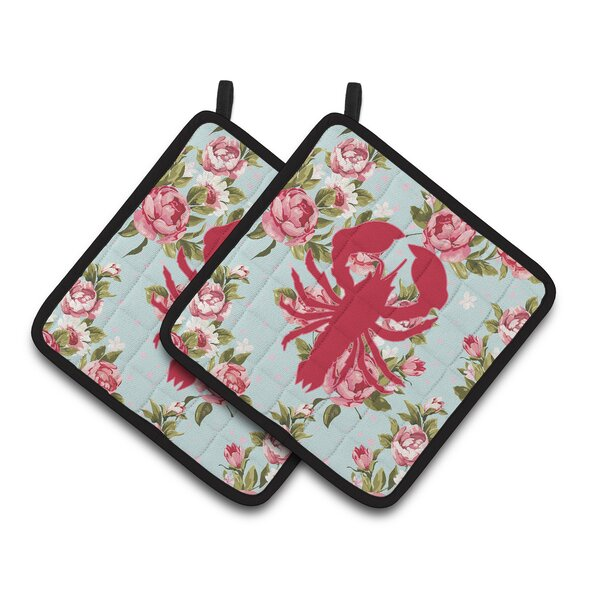 Lobster Potholder (Set of 2) by Caroline's Treasures