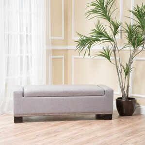 Crystal Upholstered Storage Bench by Latitude Run