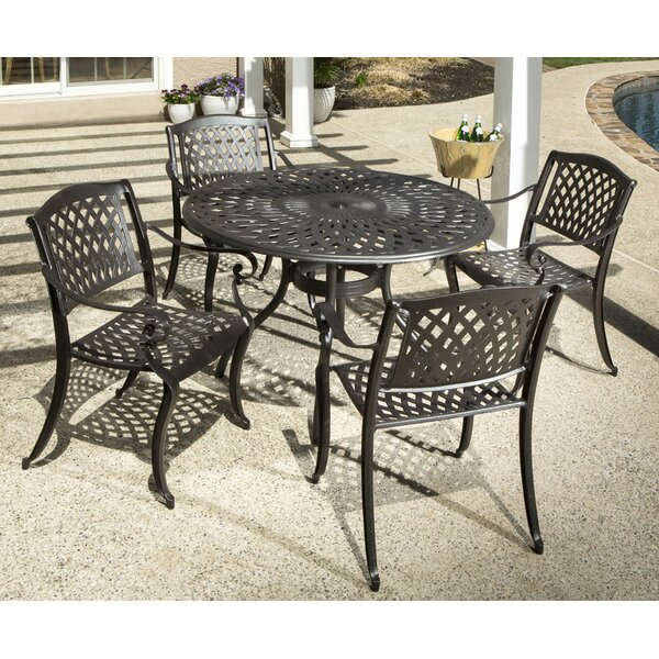 Van Reipen 5 Piece Dining Set by Darby Home Co