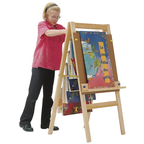 Adjustable Flipchart Easel by Angeles