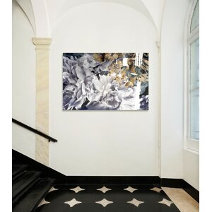 Dos Gardenias High Gloss Graphic Art on Canvas by Oliver Gal