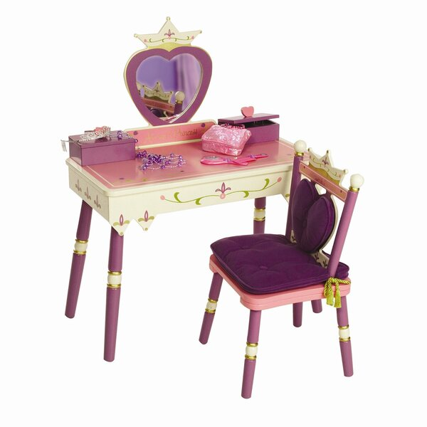 Princess Vanity Set with Mirror by Levels of Discovery