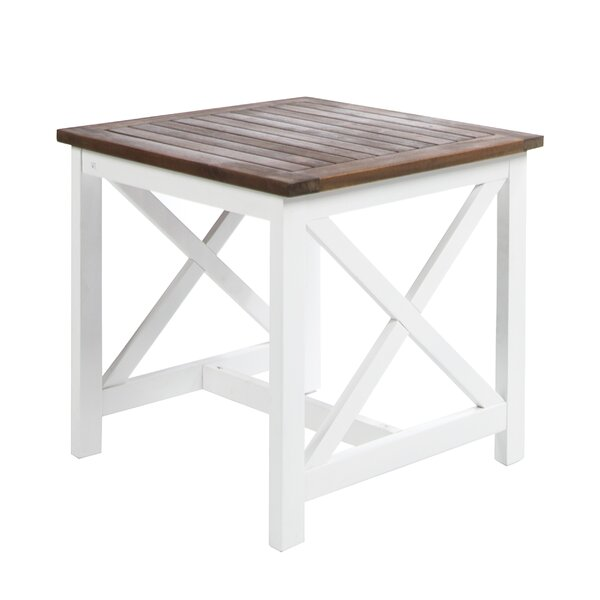 Fequiere Outdoor Wooden End Table by August Grove