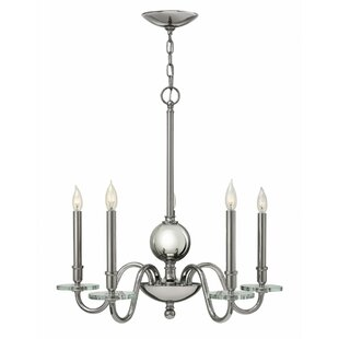 Everly 5-Light Chandelier by Hinkley Lighting