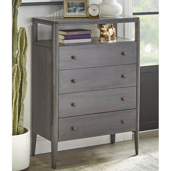 Rogelio 4 Drawer Chest by Gracie Oaks