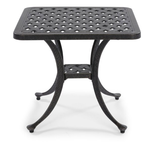 Flagg Cast Aluminum Side Table by Darby Home Co