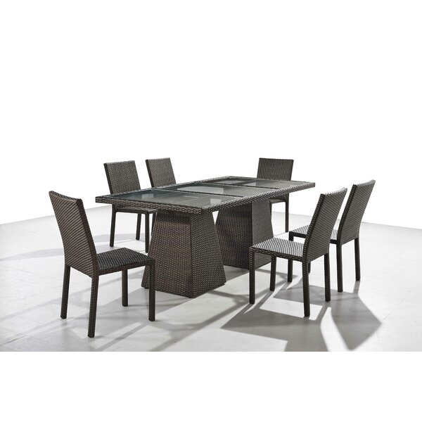 Sisk 7 Piece Dining Set by Brayden Studio