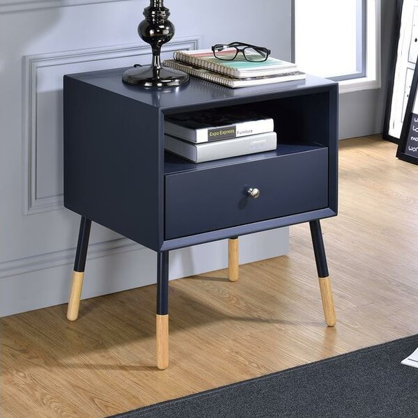 Whisman 1 Drawer Nightstand by George Oliver