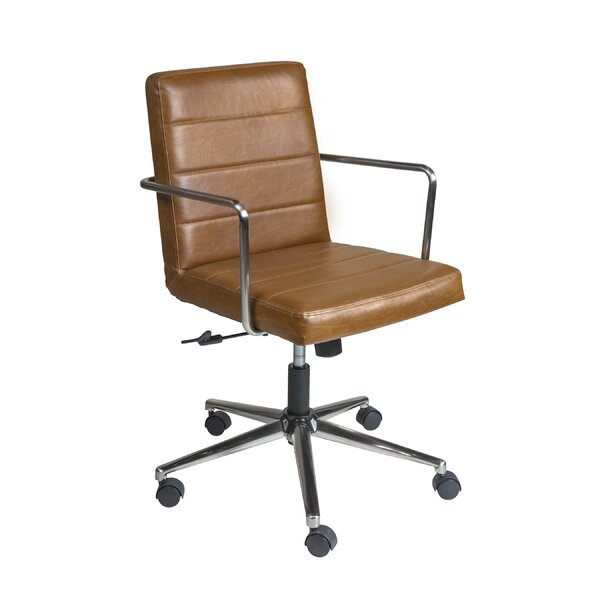 Greenlaw Low Back Office Chair by Union Rustic
