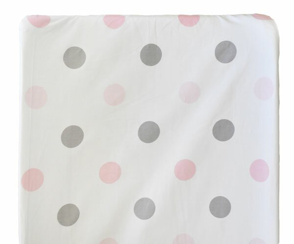 Olivia Rose Changing Pad Cover by My Baby Sam