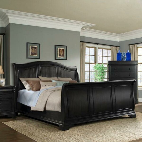 Louvre Standard Bed by Canora Grey