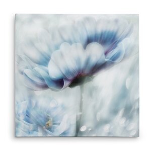 'Feeling of Blue II' Graphic Art Print on Wrapped Canvas by Winston Porter