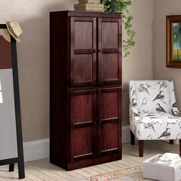 Kesterson 4 Door Storage Cabinet by Darby Home Co