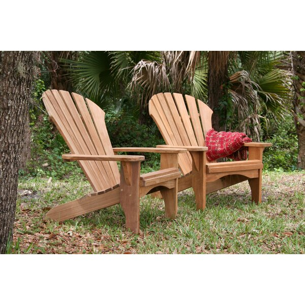 Oneill Atlantic Solid Wood Adirondack Chair by Rosecliff Heights Rosecliff Heights