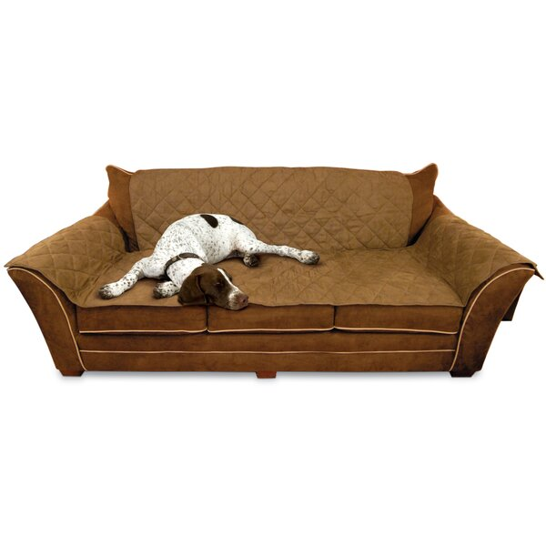 T-Cushion Sofa Slipcover by K&H Manufacturing