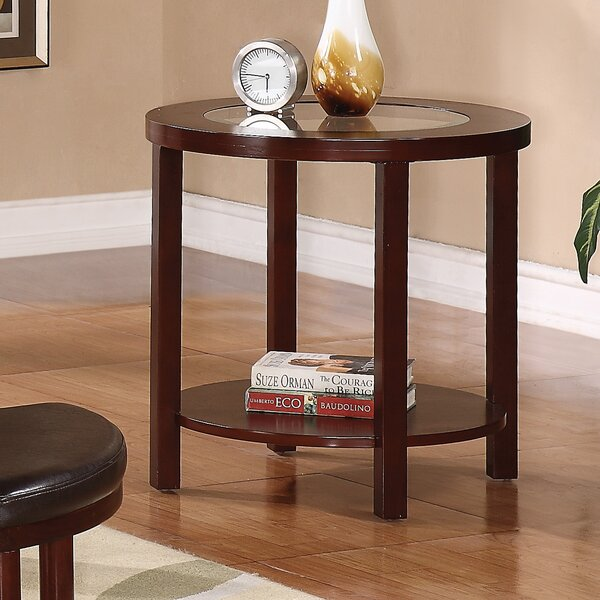 Drubin End Table by Alcott Hill