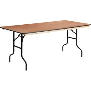 72u0027u0027 Rectangular Folding Table