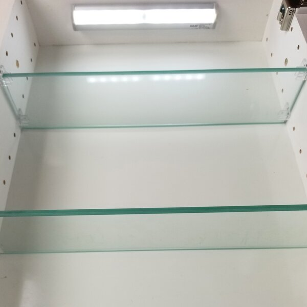 Cottonwood Series Frameless Recessed Cabinet by WG Wood Products