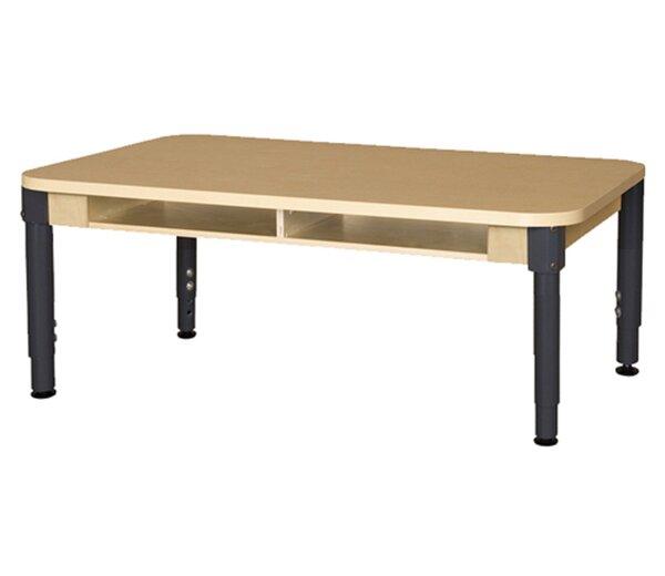 Wood Adjustable Height Multi-Student Desk by Wood