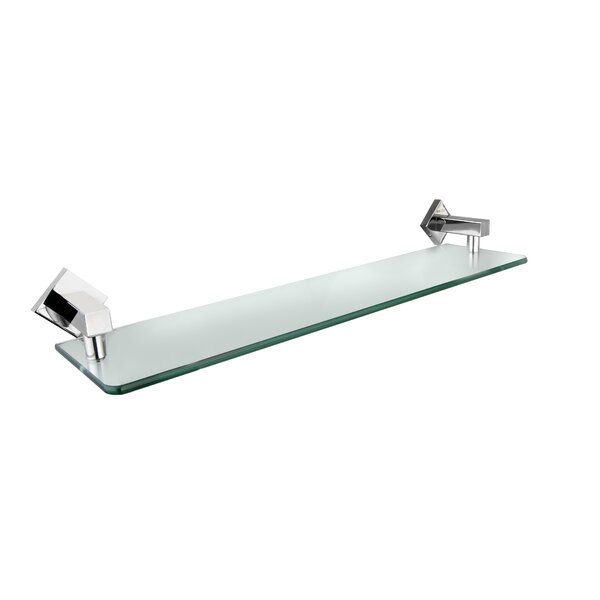 Holtzclaw Glass Bathroom Accessory Tray by Latitude Run