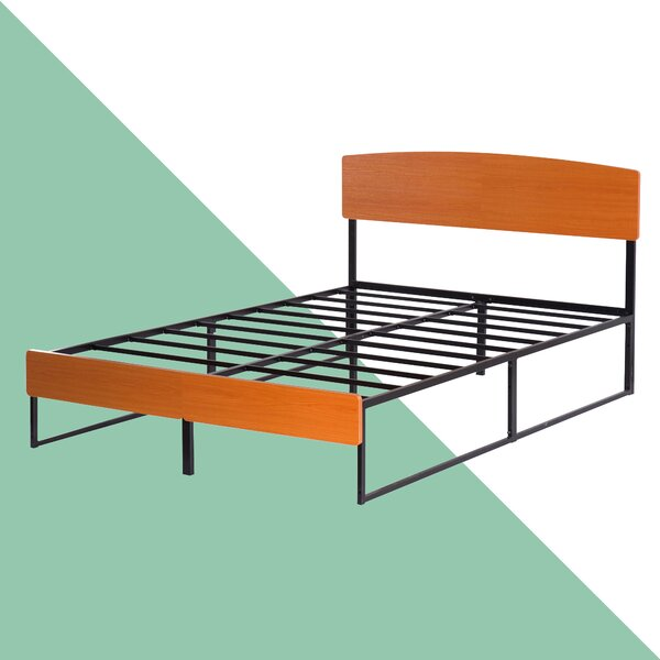 Damon Platform Bed By Hashtag Home Spacial Price