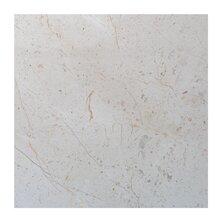 Crema Nova 6 x 6 Marble Field Tile in Beige by Seven Seas