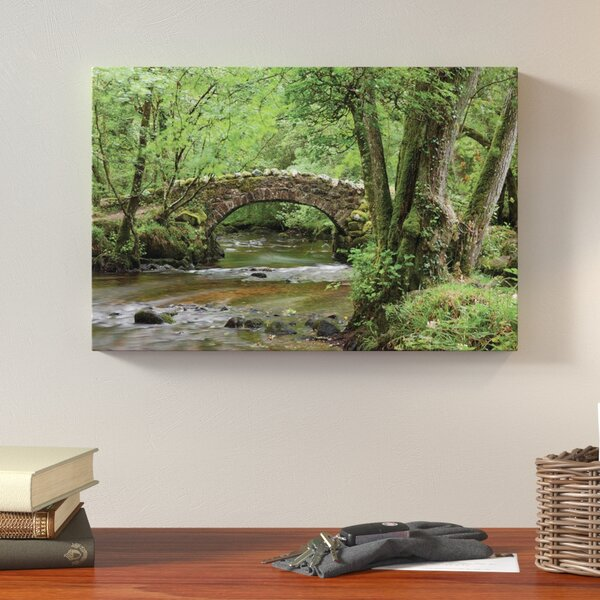 A Secret Crossing Photographic Print on Wrapped Canvas by Loon Peak