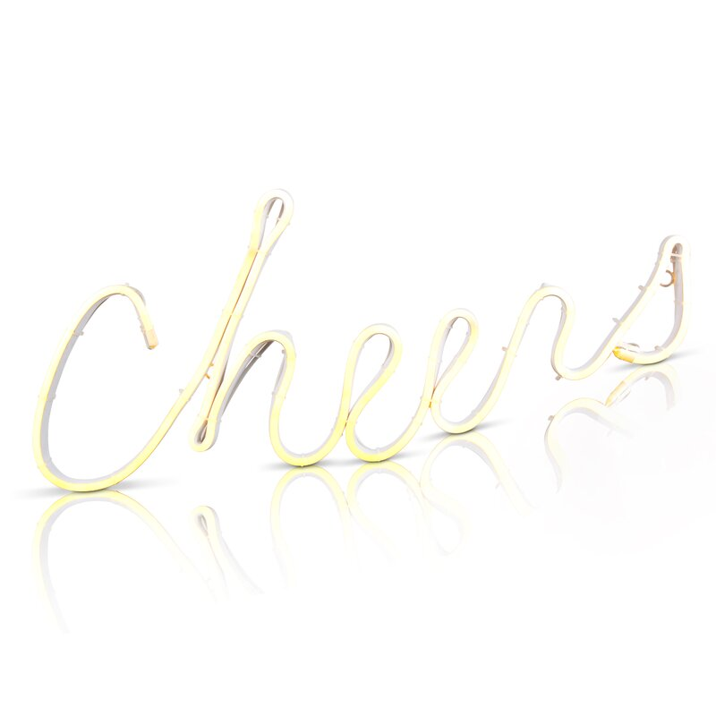 LED Cheers sign
